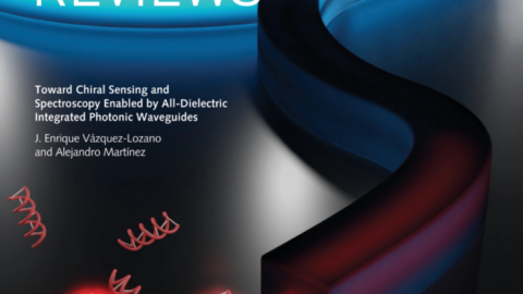 "Back cover in the September 2020 issue of ""Laser and Photonics Reviews"""